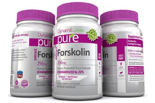 Forskolin Pure Coleus Forskohlii Root Standardized to 20% for Weight Loss