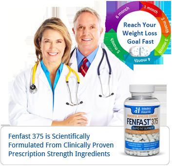 Fenfast 375 Weight loss plan